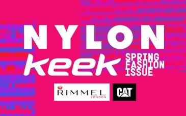 Petite Pix Vintage Photo Booth for NYLON x KEEK Spring Fashion Issue