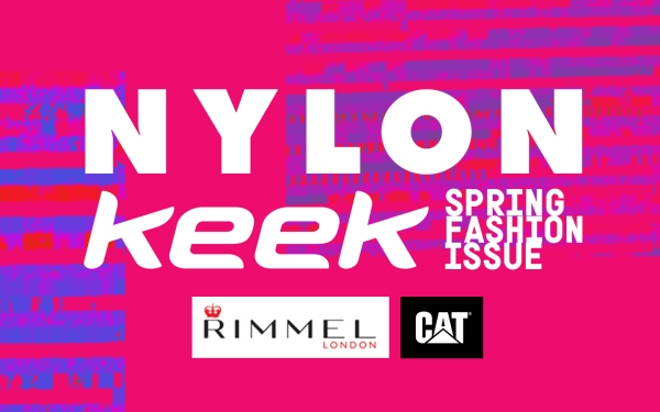 Petite Pix Vintage Photo Booth for NYLON x KEEK Spring Fashion Issue