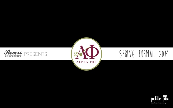 Petite Pix Studio Photo Booth for Pepperdine Alpha Phi Spring Formal