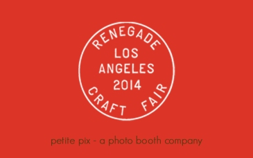 Petite Pix Studio Photo Booth at Renegade Craft Fair Los Angeles