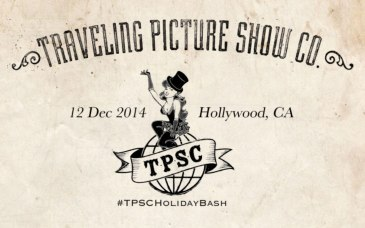 Petite Pix Portrait Photo Booth for the Traveling Picture Show Company Holiday Party 2014 #TPSCHolidayBash