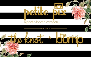 Petite Pix Classic Photo Booth with The Knot & The Bump