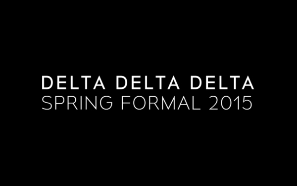 Delta Delta Delta Spring Formal 2015, Pepperdine, Los Angeles