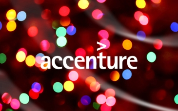Petite Pix Mid-Century Modern Photo Booth at Solar Studios for the Accenture Holiday Party
