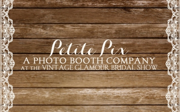Petite PIx Vintage Photo Booth at Rancho Las Lomas for the Vintage Glamour Bridal Show
