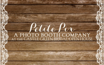 Petite Pix Vintage Photo Booth at the Castle Green Bridal Open House 2016