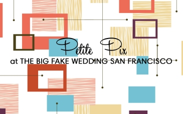 Petite Pix Mid-Century Modern GIF Photo Booth at the Big Fake Wedding San Francisco at The General's Residence at Fort Mason