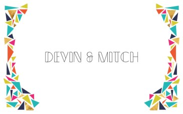 Petite Pix Vintage Mid-Century Modern Photo Booth in San Clemente for Devin and Mitch's Wedding