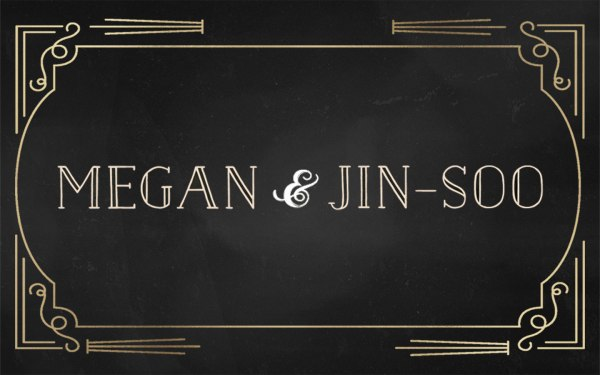 Petite Pix Vintage Photo Booth at the Ebell in Long Beach for Megan and Jin-Soo's Wedding