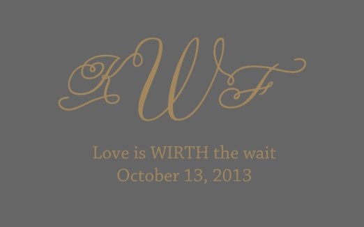 Karen & Fraser #loveiswirththewait