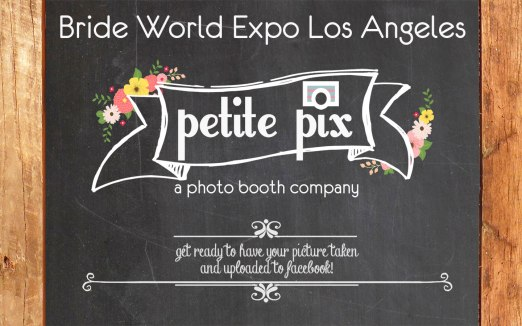 Petite Pix Photo Booth at Bride World Expo Los Angeles