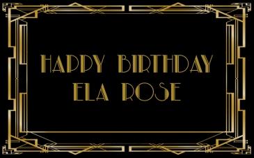 Petite Pix Vintage Portrait Booth for Ela Rose's Great Gatsby Birthday Party #ElaRoseBirthday