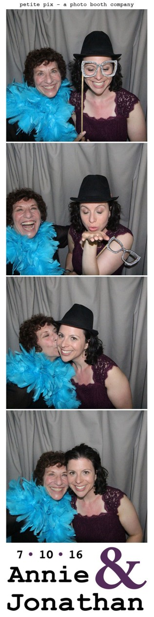 Petite Pix Classic Photo Booth at the Cicada Club in Downtown Los Angeles for Annie and Jonathan's Wedding 11