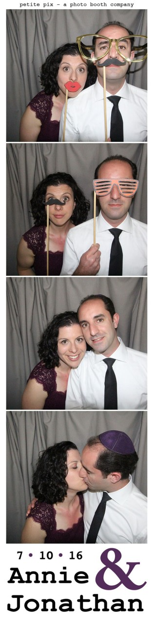 Petite Pix Classic Photo Booth at the Cicada Club in Downtown Los Angeles for Annie and Jonathan's Wedding 16