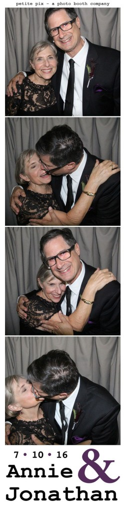 Petite Pix Classic Photo Booth at the Cicada Club in Downtown Los Angeles for Annie and Jonathan's Wedding 19