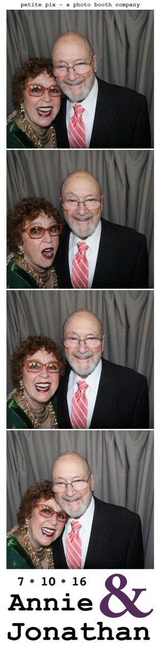 Petite Pix Classic Photo Booth at the Cicada Club in Downtown Los Angeles for Annie and Jonathan's Wedding 23