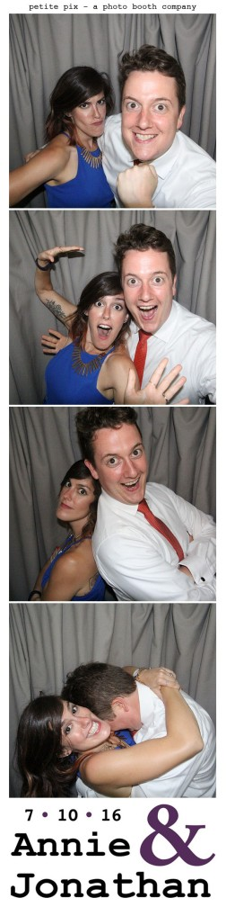 Petite Pix Classic Photo Booth at the Cicada Club in Downtown Los Angeles for Annie and Jonathan's Wedding 26