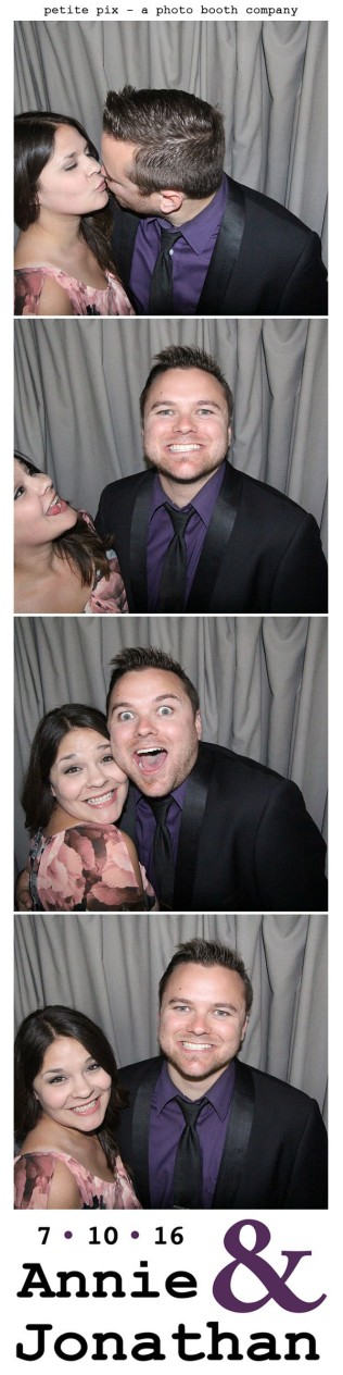 Petite Pix Classic Photo Booth at the Cicada Club in Downtown Los Angeles for Annie and Jonathan's Wedding 27