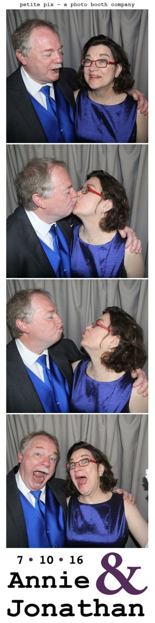 Petite Pix Classic Photo Booth at the Cicada Club in Downtown Los Angeles for Annie and Jonathan's Wedding 28