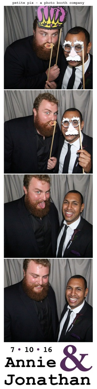 Petite Pix Classic Photo Booth at the Cicada Club in Downtown Los Angeles for Annie and Jonathan's Wedding 29