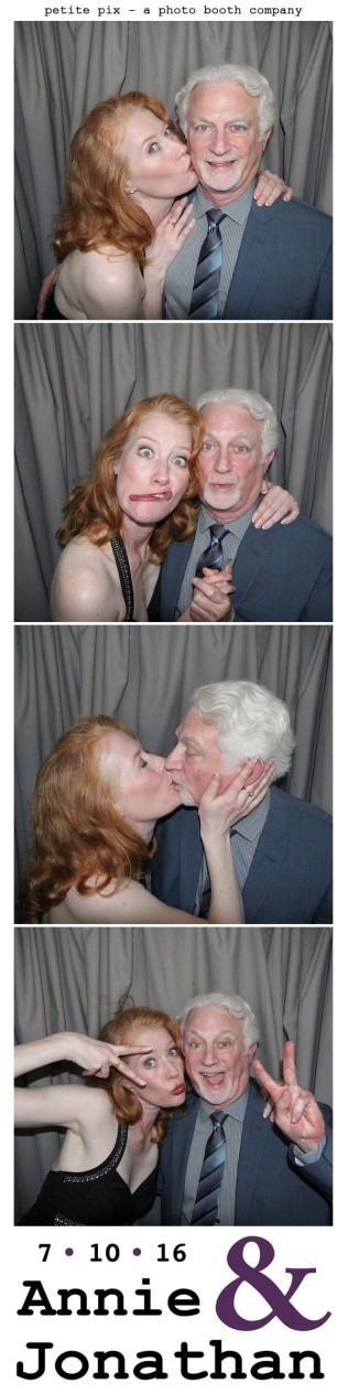 Petite Pix Classic Photo Booth at the Cicada Club in Downtown Los Angeles for Annie and Jonathan's Wedding 3