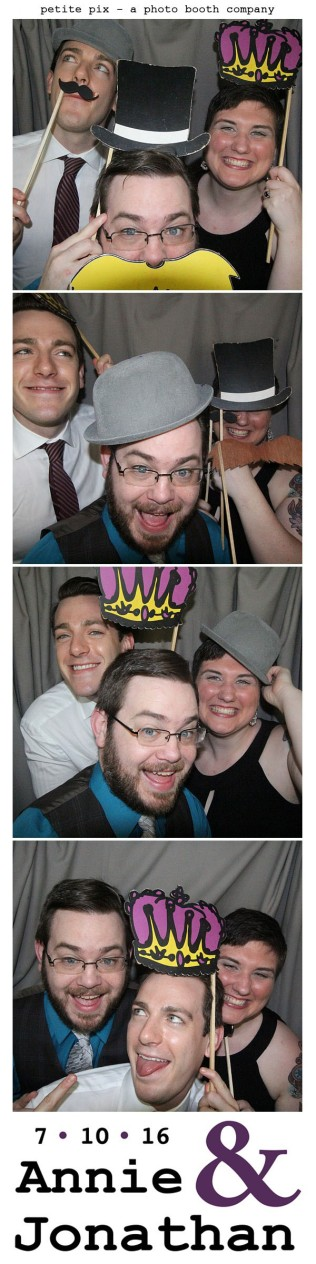 Petite Pix Classic Photo Booth at the Cicada Club in Downtown Los Angeles for Annie and Jonathan's Wedding 33