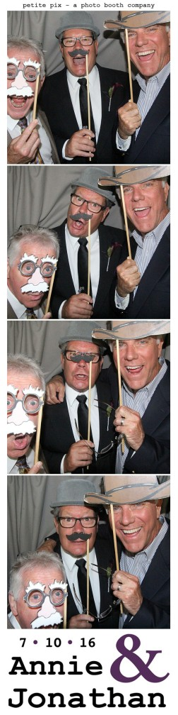 Petite Pix Classic Photo Booth at the Cicada Club in Downtown Los Angeles for Annie and Jonathan's Wedding 34