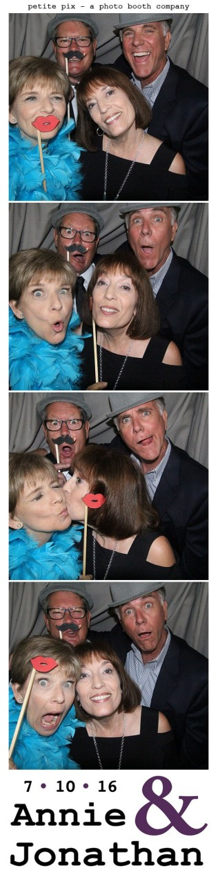 Petite Pix Classic Photo Booth at the Cicada Club in Downtown Los Angeles for Annie and Jonathan's Wedding 36