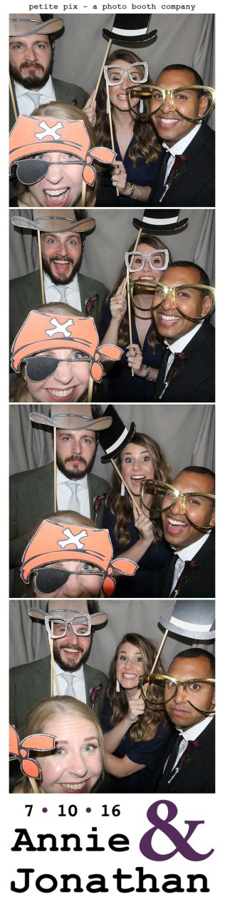 Petite Pix Classic Photo Booth at the Cicada Club in Downtown Los Angeles for Annie and Jonathan's Wedding 37