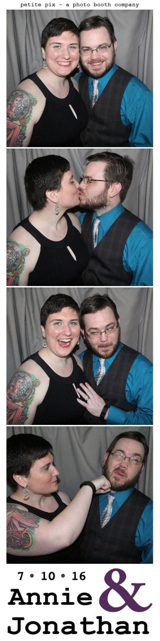 Petite Pix Classic Photo Booth at the Cicada Club in Downtown Los Angeles for Annie and Jonathan's Wedding 38
