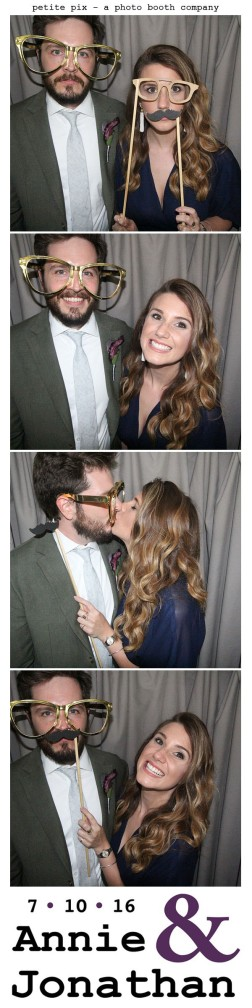 Petite Pix Classic Photo Booth at the Cicada Club in Downtown Los Angeles for Annie and Jonathan's Wedding 4