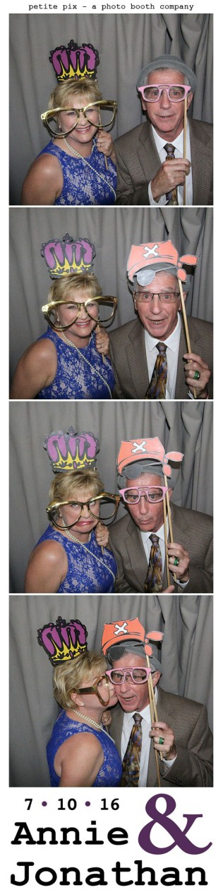 Petite Pix Classic Photo Booth at the Cicada Club in Downtown Los Angeles for Annie and Jonathan's Wedding 40