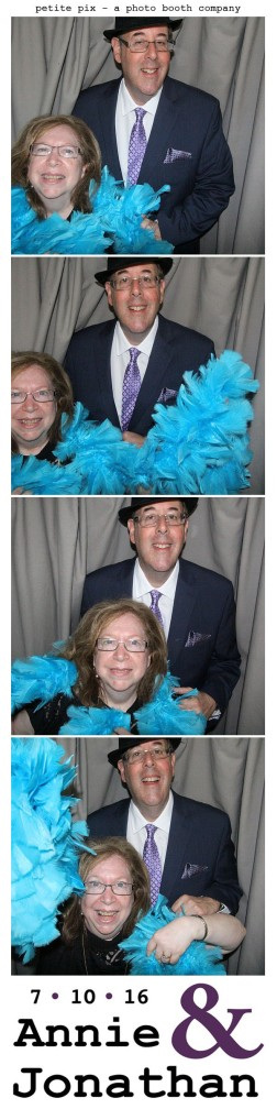 Petite Pix Classic Photo Booth at the Cicada Club in Downtown Los Angeles for Annie and Jonathan's Wedding 43