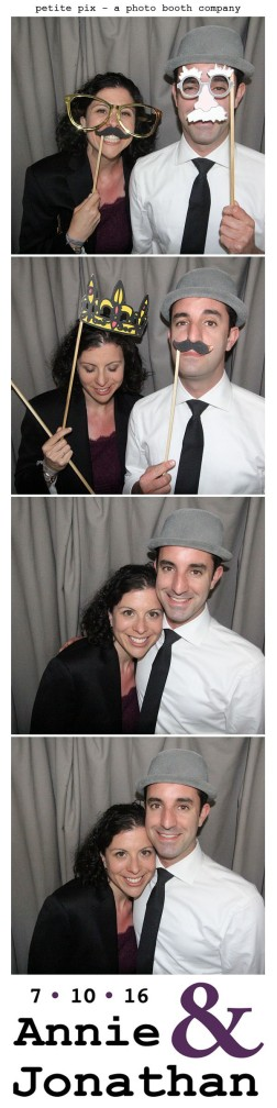 Petite Pix Classic Photo Booth at the Cicada Club in Downtown Los Angeles for Annie and Jonathan's Wedding 44