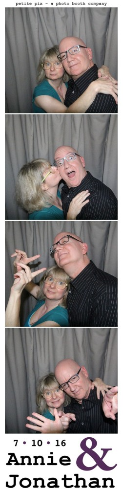 Petite Pix Classic Photo Booth at the Cicada Club in Downtown Los Angeles for Annie and Jonathan's Wedding 45