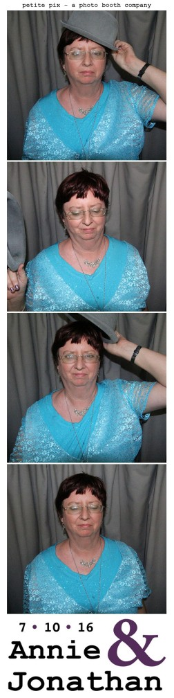 Petite Pix Classic Photo Booth at the Cicada Club in Downtown Los Angeles for Annie and Jonathan's Wedding 46