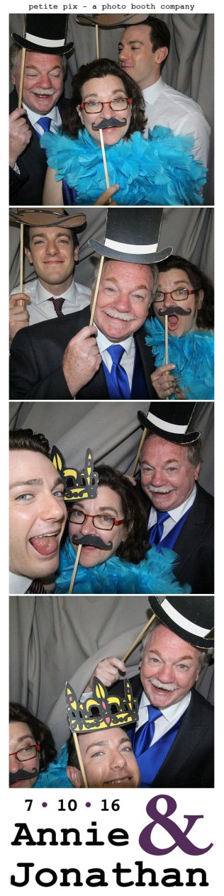 Petite Pix Classic Photo Booth at the Cicada Club in Downtown Los Angeles for Annie and Jonathan's Wedding 47