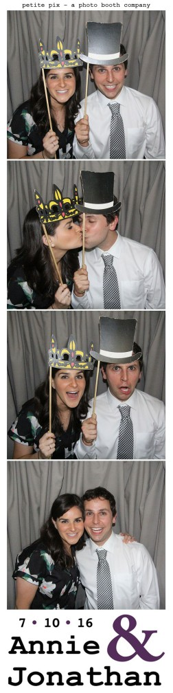 Petite Pix Classic Photo Booth at the Cicada Club in Downtown Los Angeles for Annie and Jonathan's Wedding 5