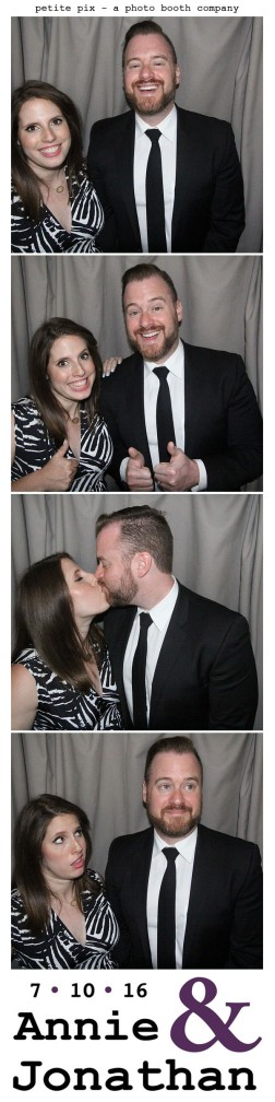 Petite Pix Classic Photo Booth at the Cicada Club in Downtown Los Angeles for Annie and Jonathan's Wedding 50