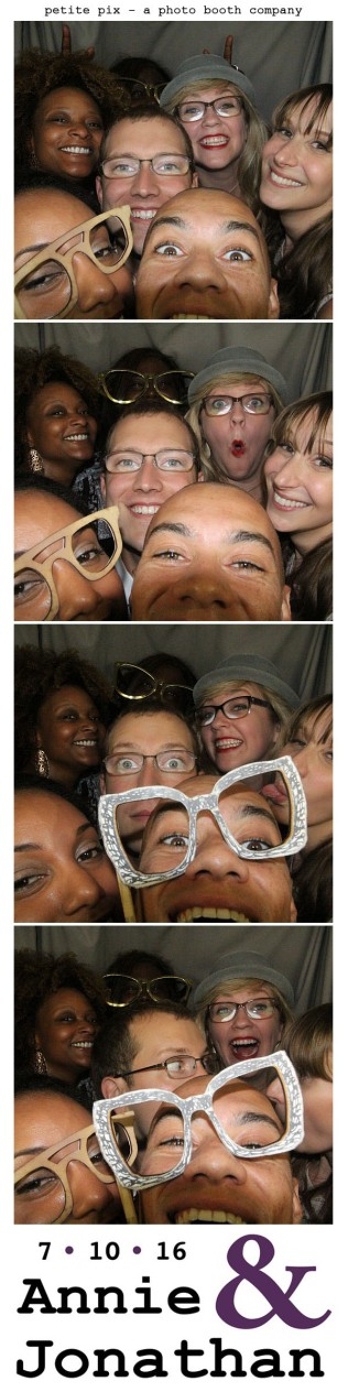 Petite Pix Classic Photo Booth at the Cicada Club in Downtown Los Angeles for Annie and Jonathan's Wedding 51