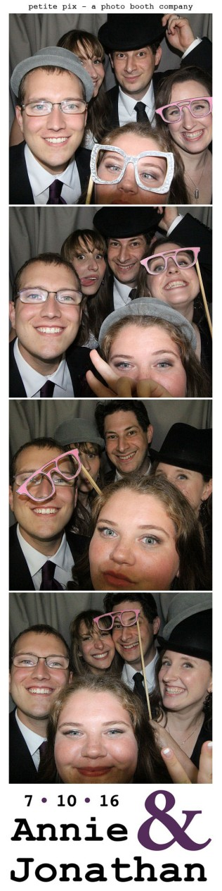 Petite Pix Classic Photo Booth at the Cicada Club in Downtown Los Angeles for Annie and Jonathan's Wedding 53