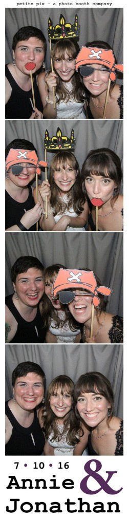 Petite Pix Classic Photo Booth at the Cicada Club in Downtown Los Angeles for Annie and Jonathan's Wedding 54
