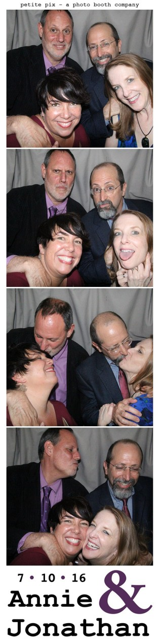 Petite Pix Classic Photo Booth at the Cicada Club in Downtown Los Angeles for Annie and Jonathan's Wedding 55