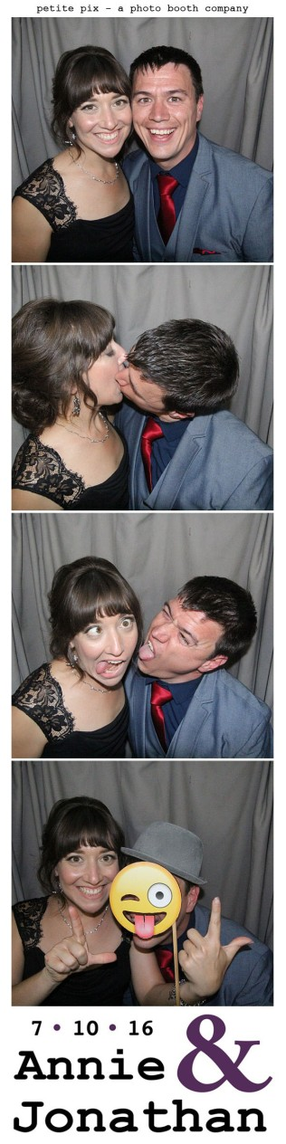 Petite Pix Classic Photo Booth at the Cicada Club in Downtown Los Angeles for Annie and Jonathan's Wedding 57