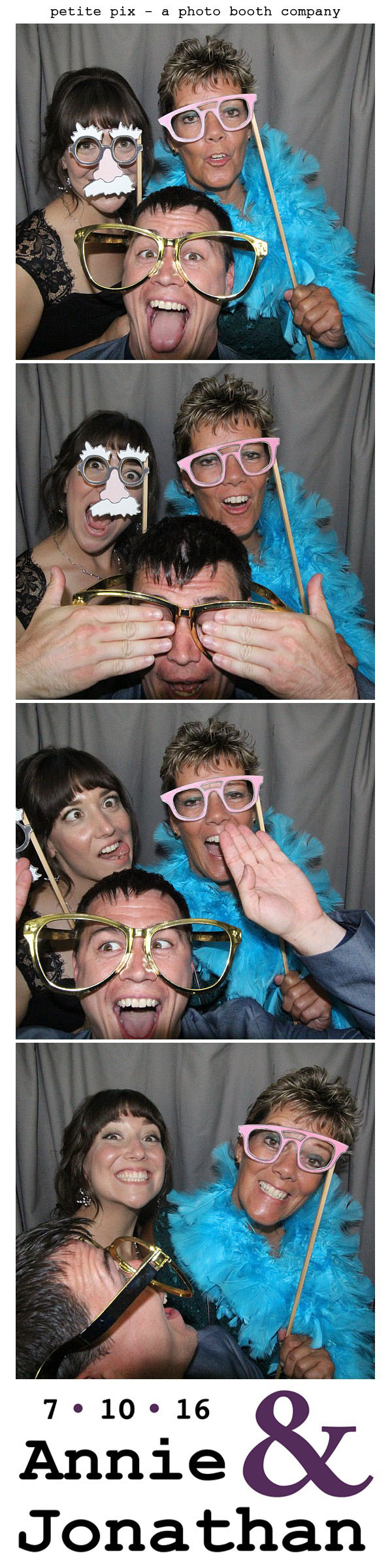 Petite Pix Classic Photo Booth at the Cicada Club in Downtown Los Angeles for Annie and Jonathan's Wedding 58