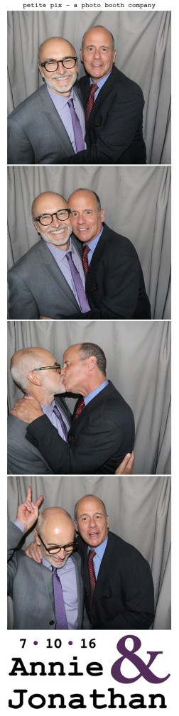 Petite Pix Classic Photo Booth at the Cicada Club in Downtown Los Angeles for Annie and Jonathan's Wedding 60