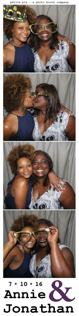 Petite Pix Classic Photo Booth at the Cicada Club in Downtown Los Angeles for Annie and Jonathan's Wedding 61