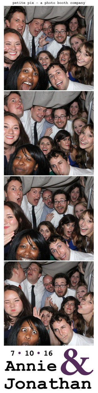 Petite Pix Classic Photo Booth at the Cicada Club in Downtown Los Angeles for Annie and Jonathan's Wedding 65