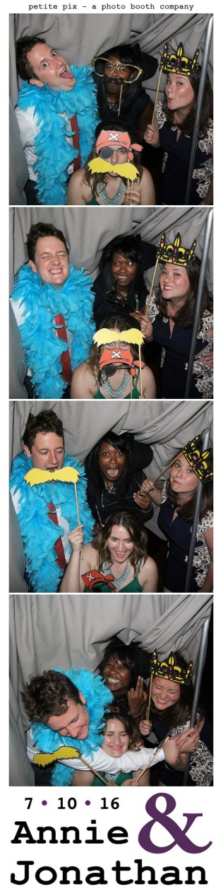 Petite Pix Classic Photo Booth at the Cicada Club in Downtown Los Angeles for Annie and Jonathan's Wedding 66