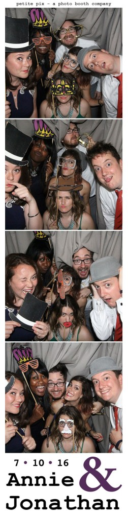 Petite Pix Classic Photo Booth at the Cicada Club in Downtown Los Angeles for Annie and Jonathan's Wedding 67